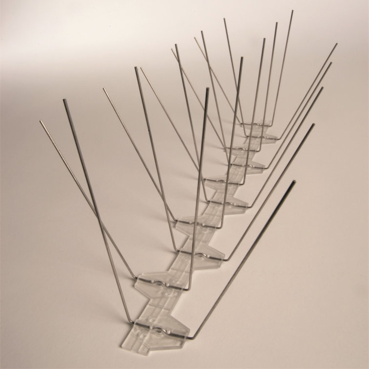 Bestrijden van duivenoverlast door middel van duivenpinnen